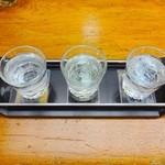 50549297 - 日本酒呑み比べセット(1)