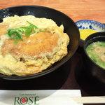 ロゼ - カツ丼