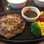 50550421 - 160502東京 肉の村山新小岩店 SAMURAIハンバーグ(200g)