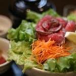 近江牛バラ色丼 セット