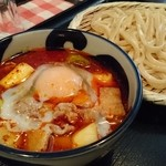 金豚雲 - △辛玉肉汁うどん 小 750円