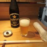 50552569 - 瓶ビール・お通し(2016/5)