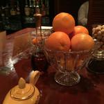 込家 - オレンジが香り立つ