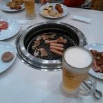 すたみな太郎 - 焼肉とビール