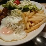 キタバル - 食べログワンコインランチで500円
