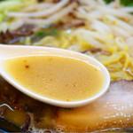 味の蔵 - 軽めの豚骨味噌スープ