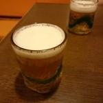 ちゃんぷるぅ家 - ランチビール(オリオンビール)
