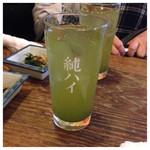榮ちゃん - 緑茶割り
