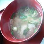 レストラン漁連 - 味噌汁