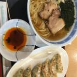 ファームキッチン - 料理写真:ラーメンセット 690円