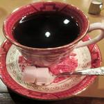 六曜社 - ブレンドコーヒー500円(2016.4月)