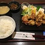 旬彩串焼 だん - うめどりもも唐定食