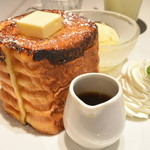 TERRACE - SWEETS&MEAL -  - 2016/05 French toast Premium terrace (1,000円)