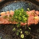 ぐらたん亭 どつぼどーる - ミニステーキ(わさび醤油)