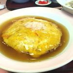 中華亭 - 料理写真:天津飯☆  カニの身たっぷりのカニ玉だよ♪