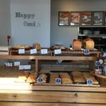 ヒナノ珈琲 - 店先レジではパンが販売されています。