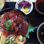 矢吉 - マグロづけ丼定食
