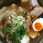 富良野とみ川 - トリプルチャーシュー麺 中華そば