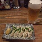 Ramensangenya - 水餃子400円