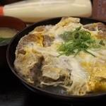 どんぶりころころ - 卵とじカツ丼