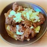 Takahashi - ホッピー通りといえば、アテは「牛すじ煮込み」が定番