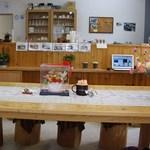 柿の茶屋 - カフェ店内
