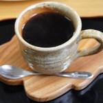 柿の茶屋 - ホット珈琲