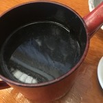 50574436 - 蕎麦湯はサラサラ薄いタイプ