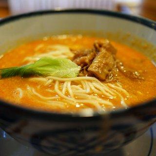 はなさき家 - 料理写真:坦々麺 3辛 ハード