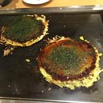 50576143 - お好み焼き イカ玉とブタ玉