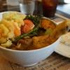kuu - 料理写真:チキンレッグと野菜カレー