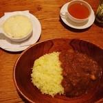 紅茶の店しゅん - カレーセット