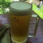 昇仙峡 金渓館 - 生ビール350ml