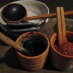 海物 - 柚子胡椒と辛子