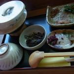 茶の里 映山紅 - 茶がゆセット