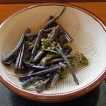 茶の里 映山紅 - わらび