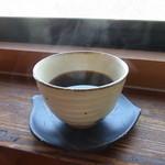 茶の里 映山紅 - 食後のコーヒー