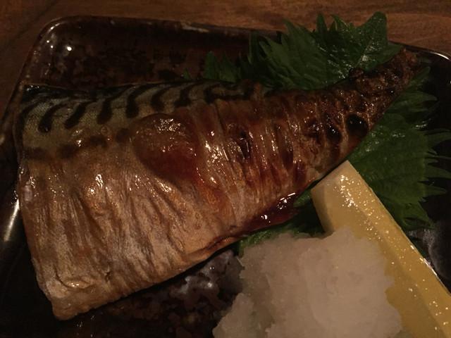 虎徹 - 焼き塩サバ