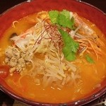 ちゃぶ屋 とんこつ らぁ麺 CHABUTON - トムヤンクンぁ麺
