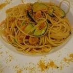 ポルポ - 桜海老とズッキーニのスパゲッティーニ