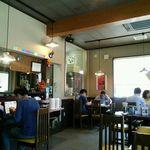 麺楽屋 - 店内風景