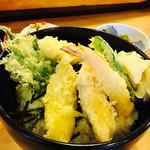 都寿司 - ランチ天丼 900円