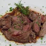 マーノ・マッジョ - 牛ハラミのスライスビーフステーキ 和風赤ワインソース【2016年2月】