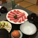 阿山茶屋 - 料理写真:伊賀牛すき焼き定食