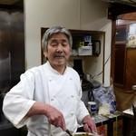 キッチン南海  - おじちゃん