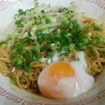 九州男烏帽子 - 料理写真:温玉そば