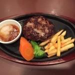 50589326 - 義理弟?食、ハンバーグステーキ