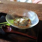鈴庵 - わらび餅。和三盆糖。<2010_09>