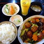 中国料理北京 - 料理写真:肉団子甘酢1