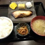50591249 - 銀たら定食(西京味噌)